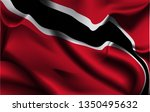 flag of trinidad and tobago.... | Shutterstock .eps vector #1350495632