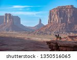 View Of Monument Valley  Arizona
