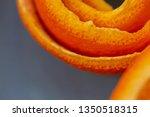 macro citrus fruit peel.... | Shutterstock . vector #1350518315