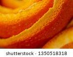 macro citrus fruit peel.... | Shutterstock . vector #1350518318