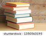 Stack Of Books In Various...
