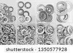 assorted steel washer in... | Shutterstock . vector #1350577928