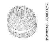 biscuit illustration vector in...   Shutterstock .eps vector #1350661742