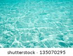 blue sea surface with waves | Shutterstock . vector #135070295