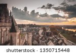 Cityscape Of Amboise Old Town...