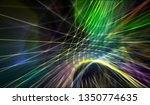 abstract graphic composition of ... | Shutterstock . vector #1350774635