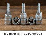 quick coupling quick coulper  ... | Shutterstock . vector #1350789995