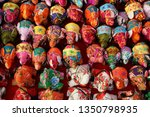 doll  fabric  made  into  a ... | Shutterstock . vector #1350798935