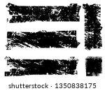 grunge paint roller . vector...   Shutterstock .eps vector #1350838175