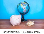 travel and holiday concept ... | Shutterstock . vector #1350871982