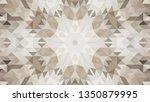 geometric design  mosaic of a... | Shutterstock .eps vector #1350879995