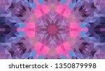 geometric design  mosaic of a... | Shutterstock .eps vector #1350879998