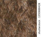 seamless texture of animal fur    Shutterstock . vector #1350888428