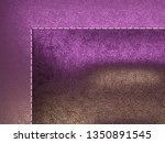 leather stitched texture or... | Shutterstock . vector #1350891545