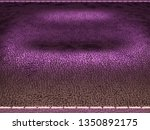 leather stitched texture or... | Shutterstock . vector #1350892175
