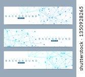 scientific set of modern vector ... | Shutterstock .eps vector #1350928265