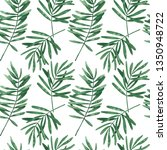 seamless tropical pattern with... | Shutterstock . vector #1350948722