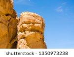 high rocky mountains against... | Shutterstock . vector #1350973238