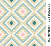 abstract geometry in retro... | Shutterstock .eps vector #1351002938