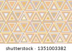 abstract geometry in retro... | Shutterstock .eps vector #1351003382