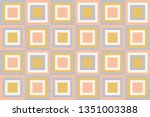 abstract geometry in retro... | Shutterstock .eps vector #1351003388
