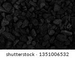 natural fire ashes with dark... | Shutterstock . vector #1351006532