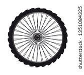 bicycle wheel spare part   Shutterstock .eps vector #1351084325