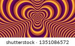 abstract color striped... | Shutterstock .eps vector #1351086572