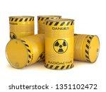 Radioactive Waste Yellow...