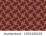 abstract illustration retro... | Shutterstock .eps vector #1351103135