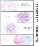 the minimalistic vector...   Shutterstock .eps vector #1351105382