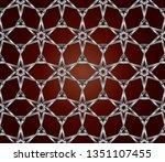 raster seamless pattern. rich... | Shutterstock .eps vector #1351107455