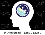 the circadian rhythms are... | Shutterstock .eps vector #1351213352