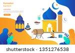 ramadan kareem greeting concept ...