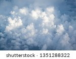 cloud above sky | Shutterstock . vector #1351288322