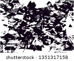 distressed background in black... | Shutterstock . vector #1351317158