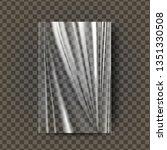 plastic polyethylene vector.... | Shutterstock .eps vector #1351330508