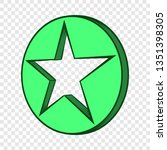 star icon in hand drawn style...