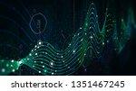 schedule statistics data ... | Shutterstock . vector #1351467245