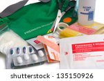 first aid kit | Shutterstock . vector #135150926