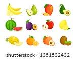 vector illustration set of... | Shutterstock .eps vector #1351532432