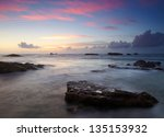 Landscape With Ocean  Roks And...