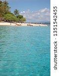 Small photo of Wala / Vanuatu - September 27, 2008: Beautiful beach of Wala Island