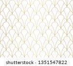 classic art deco seamless...   Shutterstock .eps vector #1351547822