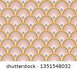 vector vintage art deco...   Shutterstock .eps vector #1351548032