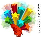 stars in perspective | Shutterstock . vector #135159575