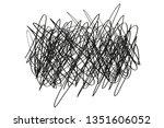 chaos on white. random chaotic...   Shutterstock .eps vector #1351606052