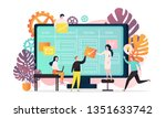 vector illustration of big... | Shutterstock .eps vector #1351633742