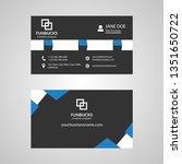 corporate creative business... | Shutterstock .eps vector #1351650722