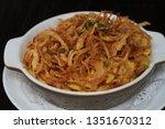 swabian cheese spaetzle with...   Shutterstock . vector #1351670312